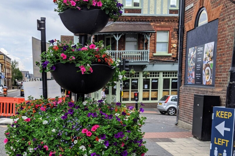 St Albans Blooms Back Into Business
